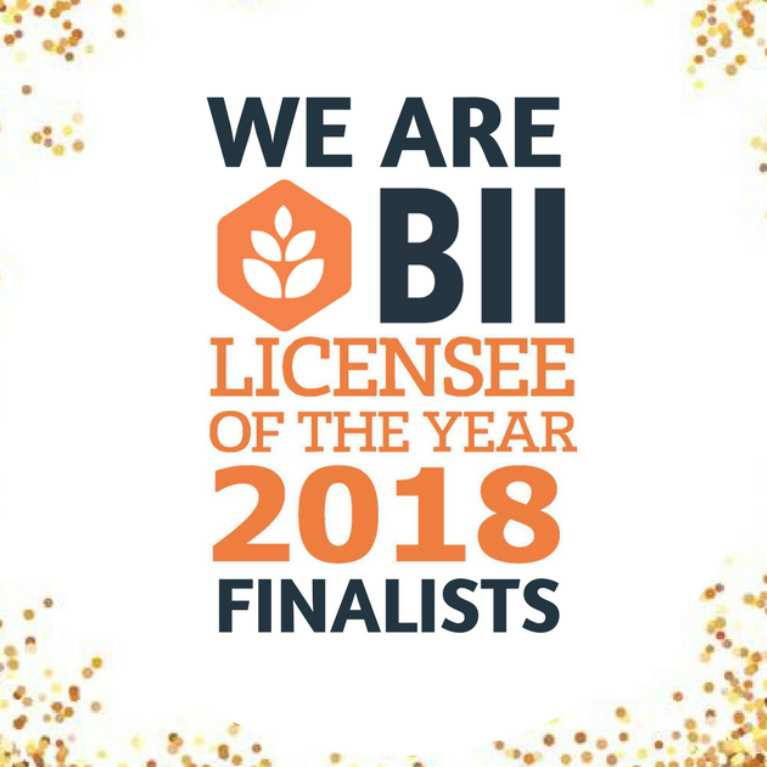 BII Licensee of the year 2018